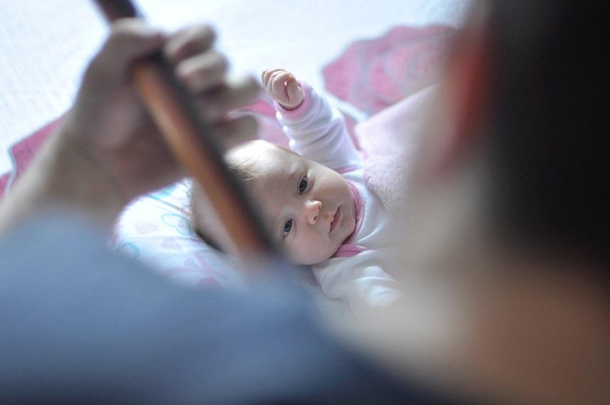 Newborn baby Gui Vicente